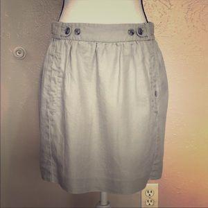 Anthropologie ETT twa Linen Skirt